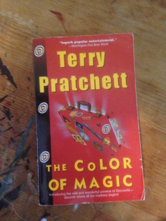 the color of magic is a book of great silliness i am sure terry pratchett would be glad to hear me say it in the color of magic a cast of foolish - The Color Of Magic Book
